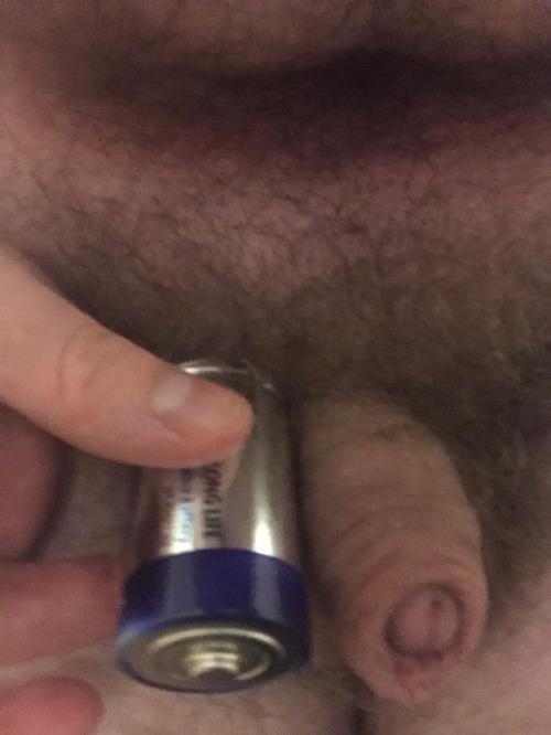Dick smaller than a D Battery… that's useless