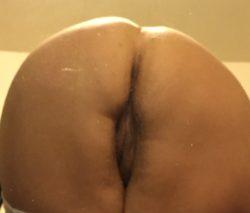 Wife's ass.