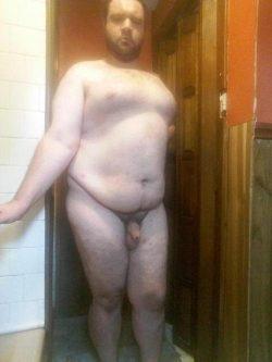Fully exposed faggot with a tiny dick!