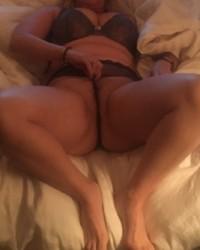 Busty Wife Panty Teasing Hubby