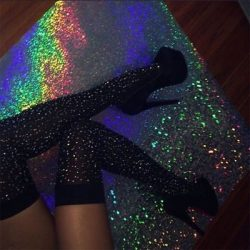 There's just something about Rainbow glitter💗♥️