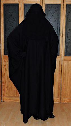 Overhead Saudi Abaya