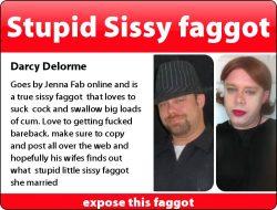 Im such a dumb faggot