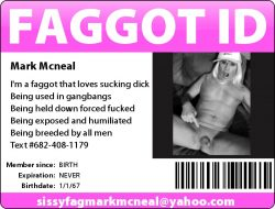 Faggot loves sucking cock