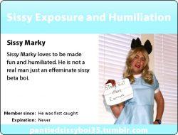 Sissy Marky's New Sissy ID Card