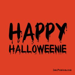 Happy Halloweenie