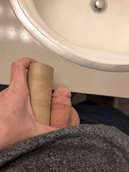 I'm a pencil dick loser.More like half a pencil… maybe.