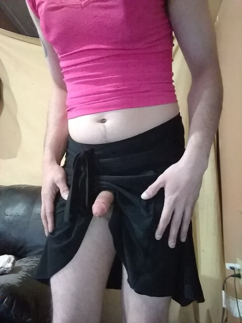 Sissy Clit in a Skirt