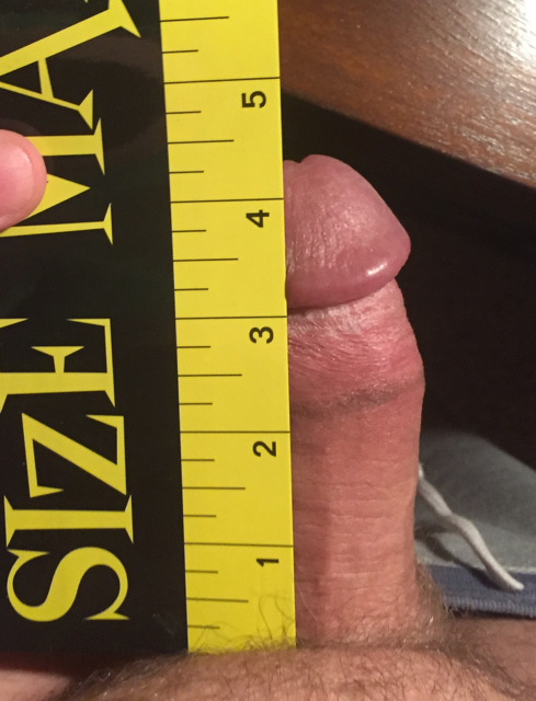 Barely 4 inches of hard worthless dicklette