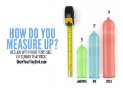 How does your dick measure up?
