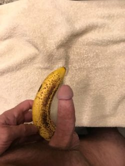 Pathetic banana challenge failure