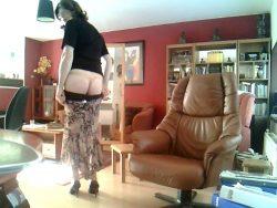 exposing butt
