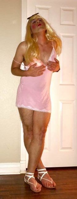Sissy Marky as a blond