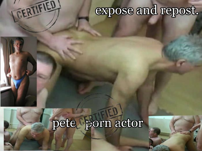 pete getting his arse fucked.