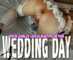 """Just be prepared to """"get messy"""" on your Wedding Night! 🌹"""