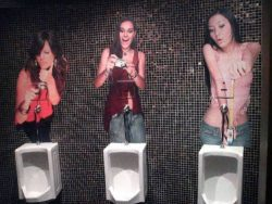 A little SPH at the urinals