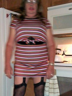 Mistress does not think the dress is too short