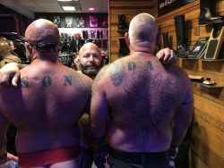 Gay pride SF 2018 @ S leather
