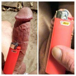 Erect & Flaccid vs Lighter Challenge