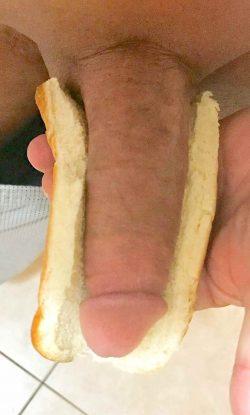 Hot Dog Challenge Eggplant Friday Edition