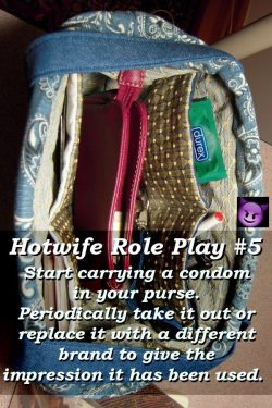 Hot Wife Role Playing Idea