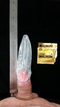 I took the Magnum Condom Challenge