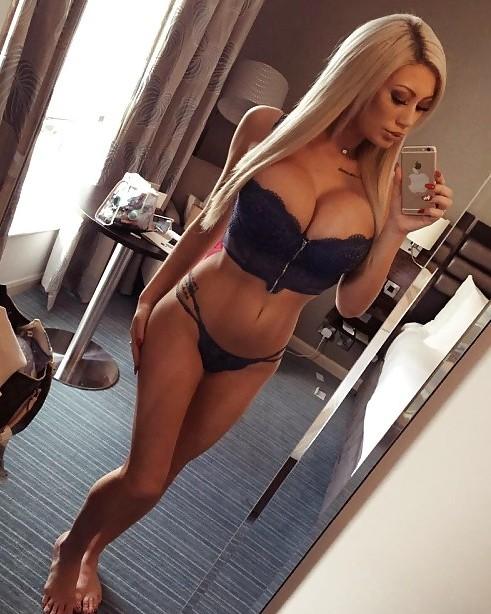 Big Fake Titty Selfie