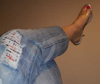 boyfriend jeans and pleasers