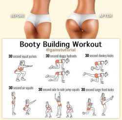 Booty Building Workout for Sissies