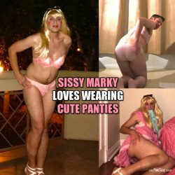 Sissy Marky Loves Wearing Panties