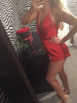 Ready in a Red Teddy!! ❤️💋❤️