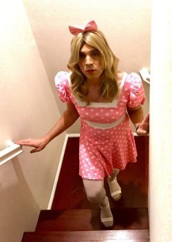 Sissy Mark Wanted to Dress Like a Pretty Girl