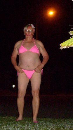 Cute pink bikini Sissy