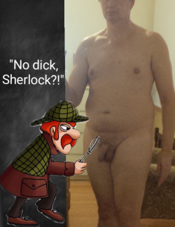 No Dick Sherlock