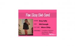 I am now a member of the Fem Sissy Club