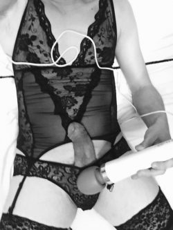 Mistress decided it was sissy clitty torture time