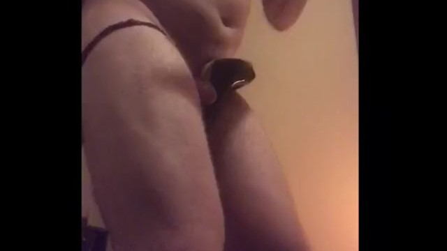 SYTD Slave Gets Ass Banging from Nut Nudger and Ruined Orgasm
