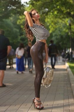 """When you've made it to this point Sissy, going for a walk in the park is… """"A w ..."""