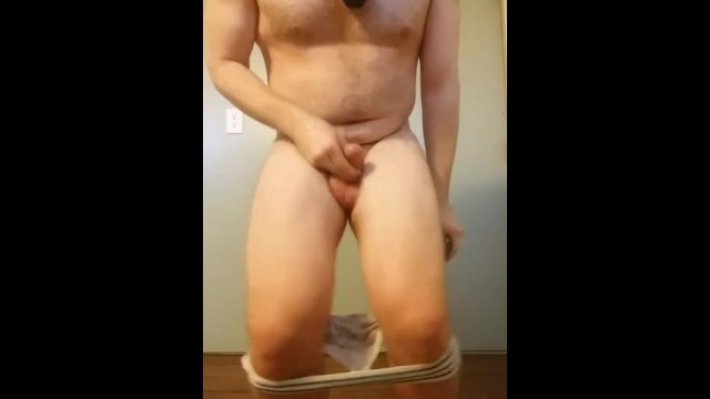 Tiny Dick Gets Ballbusted then Sucks a Cucumber