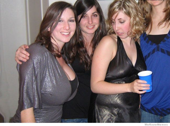 She knows only real women have big tits. Poor girl will never be as sexy