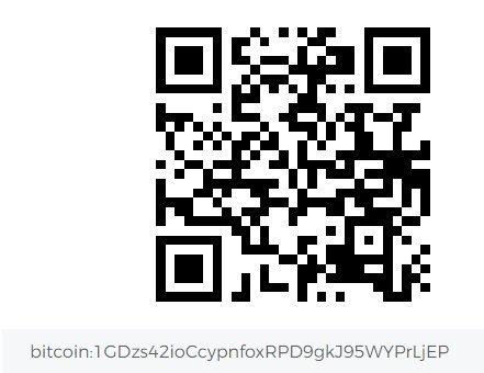 the new way to #Spoil Me – #Bitcoin #BTC #Crypto Wallet: 1GDzs42ioCcypnfoxRPD9gkJ95WYPrLjEP