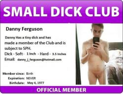 Danny Ferguson Exposed