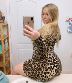So much booty in that dress