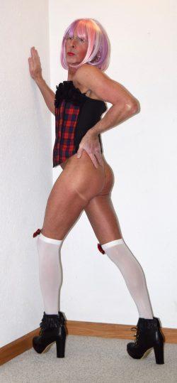 Sissy Micki needs to be spanked!
