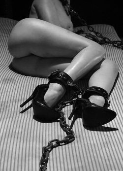 Restrained.. But just barely!! 😍😉
