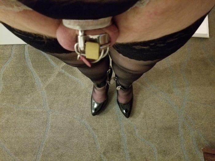 Life with a feminine shriveled up sissy clit
