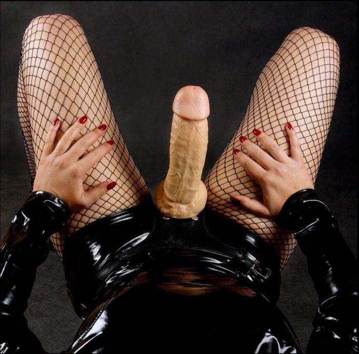 Get treated like a sissy strapon slut by mistress