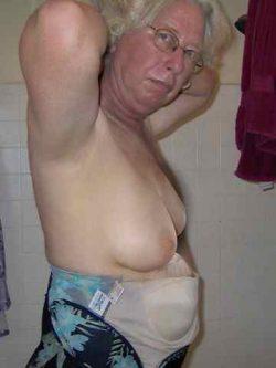 Granny Caught Topless