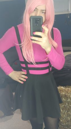 Me dressing like a girly sissy