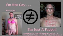 Faggot Bitch Available